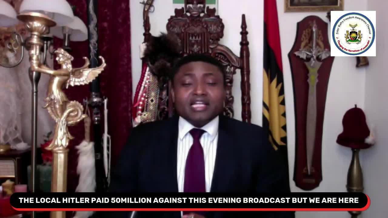 Simon Ekpa - The Exposition of Governor Umahi the local Hitler of Ebonyi State 22.4.2021