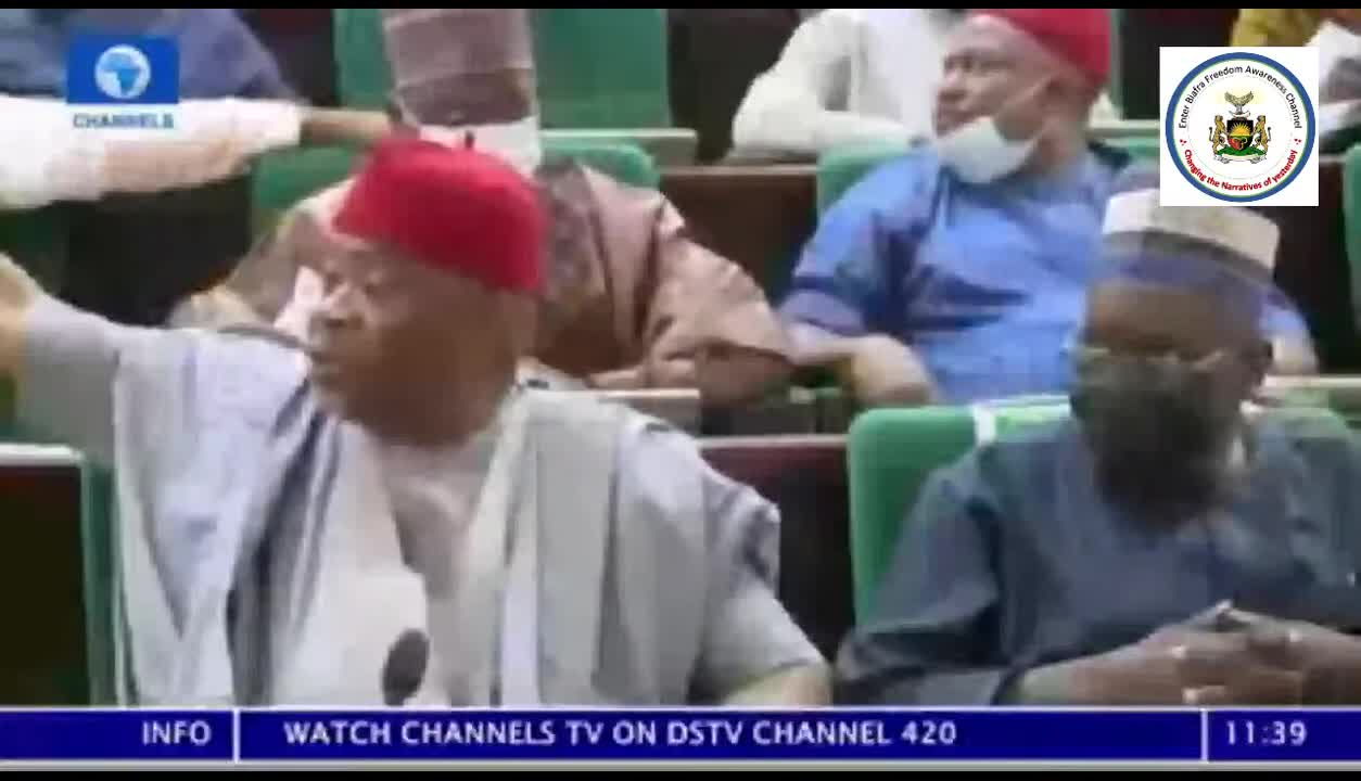 Motion to divide Nigeria at the National Assembly raised 22.07.2021