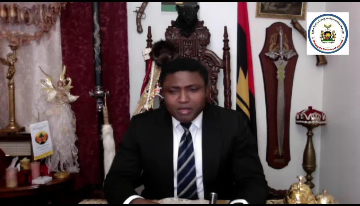 Emergency Broadcast to address Garba Shehu Divisive Press Statement on IPOB AND Yoruba Nation  16...